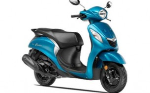 yamaha Fascino -std-sassy-cyan,Yamaha scooters,shanti Motors Chennai