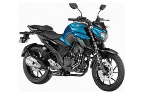 Yamaha FZ-250-std-blue,Yamaha FZ-250 blue color