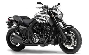 yamaha-vmax-1700_black, Black color bike, Yamaha bikes,Shanti Motors,Chennai
