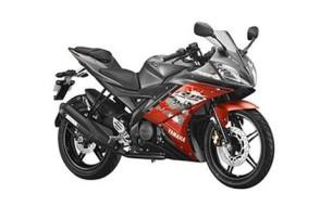 Yamaha bike model YZF-R15V2 red color,Yamaha red color bike,Shanti Motors Chennai,Tamil Nadu
